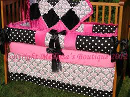 pleasant hot pink and black crib bedding sets best home decorating prepossessing hot pink and black crib bedding sets perfect interior design for home remodeling with hot