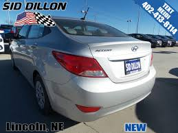 new 2017 hyundai accent se 4 door sedan in lincoln 4h17565 sid