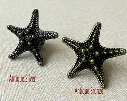 Beach Themed Cabinet Knobs by Starfish Knobs Etsy