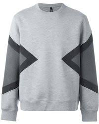 off white c o virgil abloh auction house colour block hoodie in