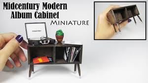 modern photo album diy miniature modern record album cabinet