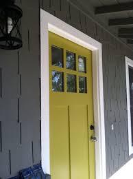 beautiful doors entry door on gray house painted in sherwin