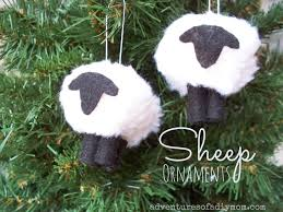 how to make a sheep ornament nativity ornament series