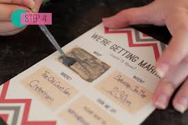 diy wedding invites diy scratch card wedding invitations bespoke wedding