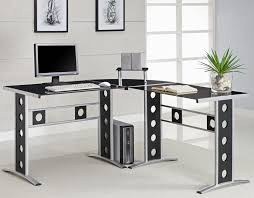 Modern L Shape Desk Modern Computer Desk L Shaped All Furniture How To Unclutter A