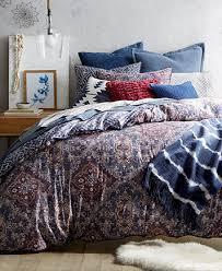 macy bedding sets lucky brand brooke navy reversible full queen comforter set