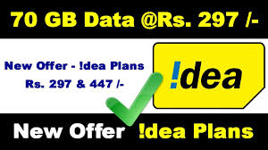 idea plans idea 4g launched new prepaid plan 70 gb data for rs 297 and 447