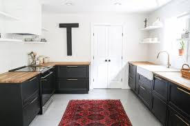 painted black cabinets in kitchen pictures kitchens with black cabinets