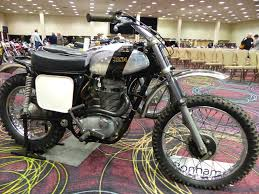 vintage motocross bikes for sale oldmotodude 1971 bsa b50 mx for sale at the 2016 bonhams las