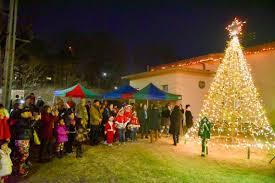 tree lighting annual piedmont avenue