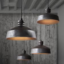 cool industrial pendant lights pinteres