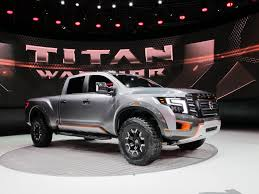 nissan titan cummins lifted nissan shows off road oriented titan warrior concept
