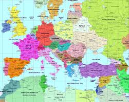 European Union Blank Map by European History Maps