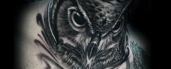 30 owl neck designs for bird ink ideas