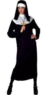 naughty nun ladies fancy dress hen party uniform tarts