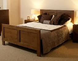 old java bed for bedroom furniture made from solid mahogany wood