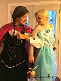 Anna Costume No Sew Anna Frozen Costume For Cheap Uncookie Cutter