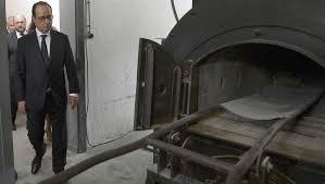 struthof chambre à gaz libération des cs de concentration françois hollande au struthof