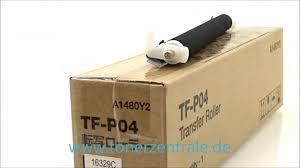 konica bizhub c25 c35 transfer roller tfp04 youtube