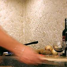 Best Backsplash Ideas Pebble And Stone Tile Images On - Pebble backsplash