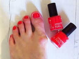 trying out u0027friendly u0027 nail polish to see if it u0027s as good as the