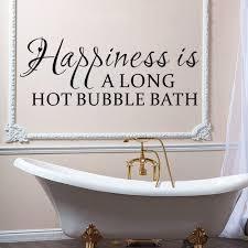 vinyl wall sticker happiness long hot bubble bath decal vinyl wall sticker happiness long hot bubble bath decal home decor diy living room bedroom decoration