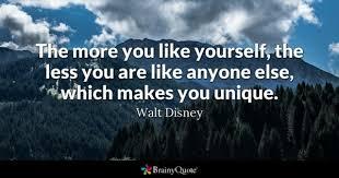 unique quotes brainyquote