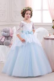 blue bridesmaid dresses for kids image collections braidsmaid
