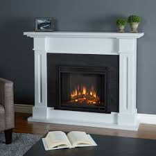 real flame kipling white electric fireplace overstock com