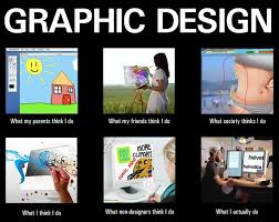 Graphic Design Meme - what my friends think i do what i actually do graphic design