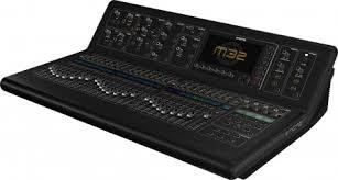 Sound Desk Midas M32 Hire Midas M32 Mixing Desk Rental Surrey London