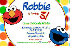 colors cookie monster birthday invitations free with free cookie