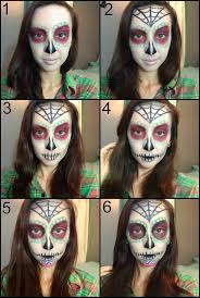 day of the dead skull makeup tutorial u2013 befunky blog