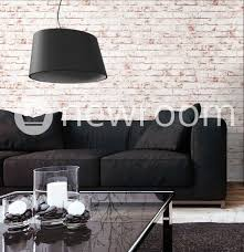 Wohnzimmer Rot Braun Steintapete Vlies Weiß Rot Edel 3d Optik Für Wohnzimmer