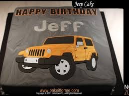 jeep cake topper jeep fondant cake cakecentral com