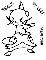 pokemon dewot coloring pages pokemon coloring pages