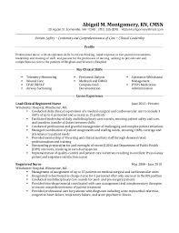 Sample Cover Letter For Registered Nurse Resume Telemetry Nurse Resume Haadyaooverbayresort Com