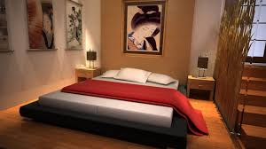 bedroom japanese style stripes inflatable bed mattress classic