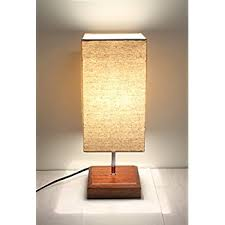 Desk Light Design Zeefo Simple Table Lamp Bedside Desk Lamp With Fabric Shade And