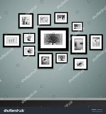 Wall Picture Frames by Frames On Wall Photo Picture Painting Stock Vector 138284609