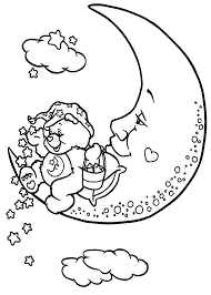 care bears throwing lots stars coloring pages care bears