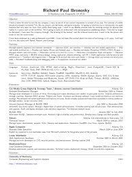 Php Developer Resume Siebel Application Developer Resume