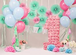 baby s 1st birthday 7x5ft baby s 1st birthday photography backdrops flowers balloons