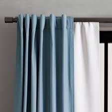 Baby Blue Curtains Blackout Curtain West Elm
