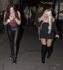 holly hagan sexy charlotte crosby parties with holly hagan and sophie kasaei as