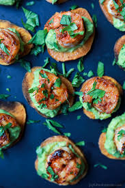 cajun shrimp guacamole bites easy healthy recipes using real