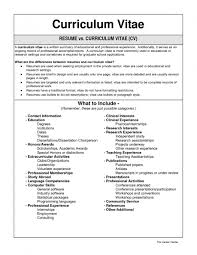 Technology Resumes Difference Between Resume And Cv And Biodata Free Resume Example