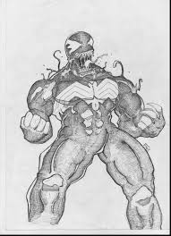 great show me more venom and iron man colouring pages with venom