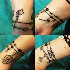harry potter charm bracelet tattoo tattoo amino