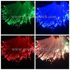 fiber optic light strands fiber optic light strands 50pcs 1 0mm cable length 2m for diy star